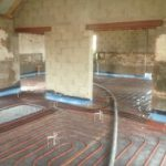 Underfloor Heating Laid Ready for Floor Screed