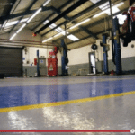 Garage Floor Screed