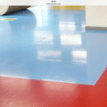 Finsihed & tiled screed flooring