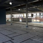 Under floor heating preparation