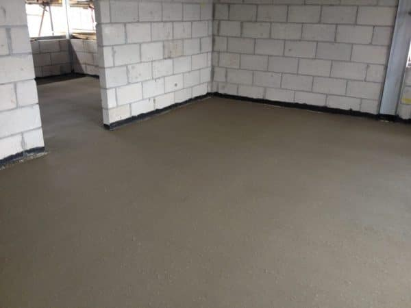 Finished Floor Screeding