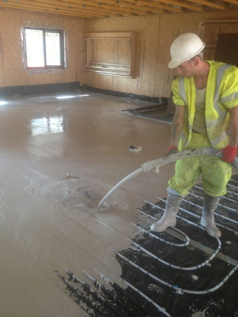 Pumping the Flow Screed