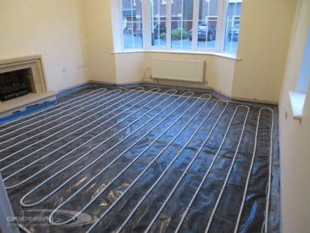Underfloor Heating Ready for Liquid Screed