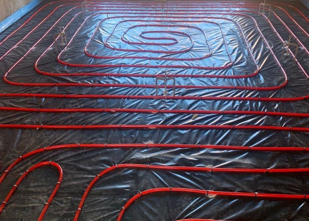 Horizontal Under Floor Heating